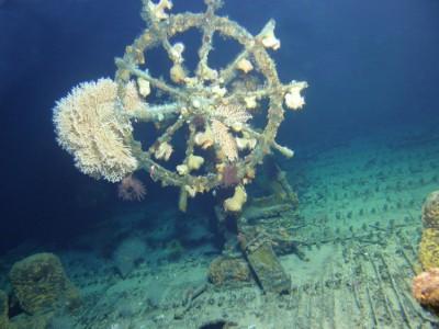 The ghost ship USS Hawaii Kailua