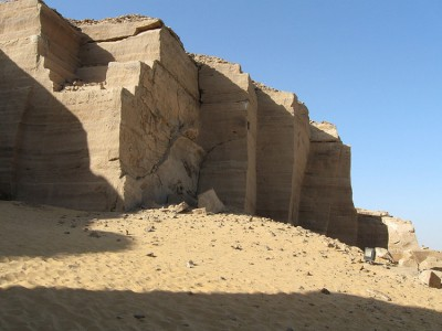 The Kheny temple at Gebel el-Silsila in Egypt