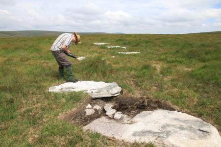 A new stone circle in Dartmoor
