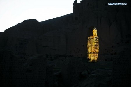 3D Hologram Technology Used To Resurrect Destroyed Buddha Statues In Afghanistan-