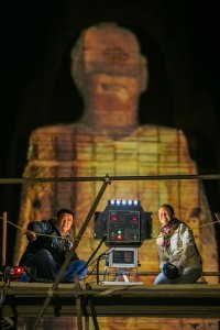 3D Hologram Technology Used To Resurrect Destroyed Buddha Statues In Afghanistan-2