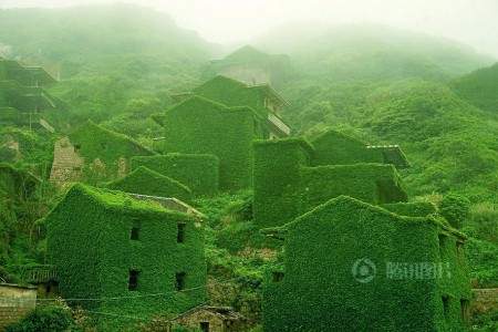 See How Nature Relcaims A Beautiful Abandoned Fishing Village In China?-