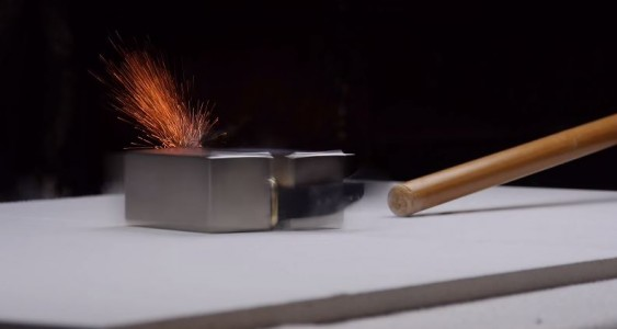 See Result Of $10,000 Apple Watch Being Smashed By Powerful Magnets-