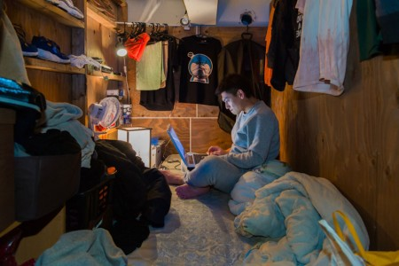 Stunning Images Of People Living In Very Small Rooms In Japan-9