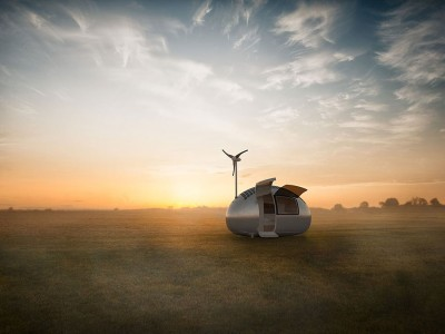 This Ecocapsule Lets You Live Anywhere On Earth Without Electricity-