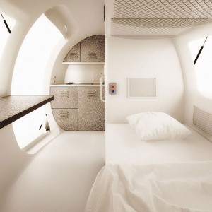 This Ecocapsule Lets You Live Anywhere On Earth Without Electricity-1