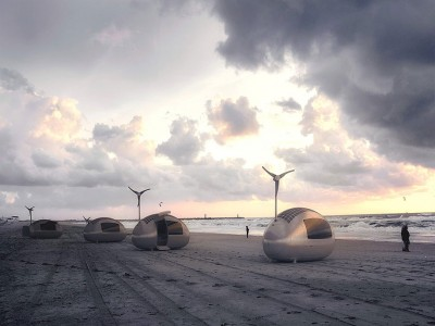 This Ecocapsule Lets You Live Anywhere On Earth Without Electricity-2