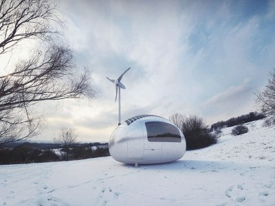 This Ecocapsule Lets You Live Anywhere On Earth Without Electricity-4