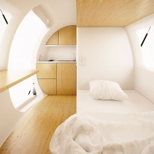 This Ecocapsule Lets You Live Anywhere On Earth Without Electricity-8