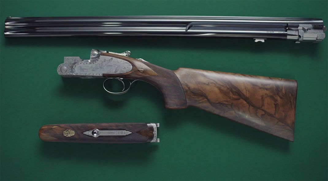 A Fascinating Film Reveals Each Step In Preparation Of A Beretta Shotgun-18