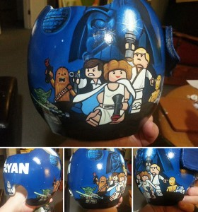 Artist Brings Smiles To Babies By Transforming Their medical Helmets Into Artworks-13
