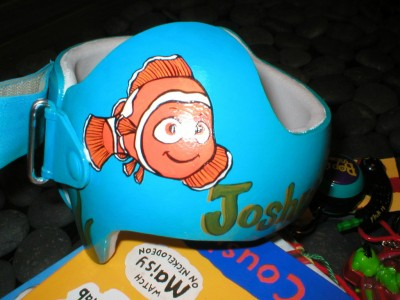 Artist Brings Smiles To Babies By Transforming Their medical Helmets Into Artworks-18