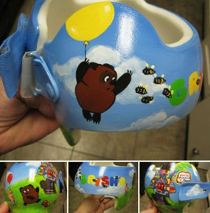 Artist Brings Smiles To Babies By Transforming Their medical Helmets Into Artworks-7