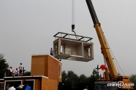 Incredible!!! A 3D-printed home Assembled In Only Three Hours -4