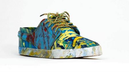 Make Yourself Brand New Shoes Using The Waste On The Beaches-2
