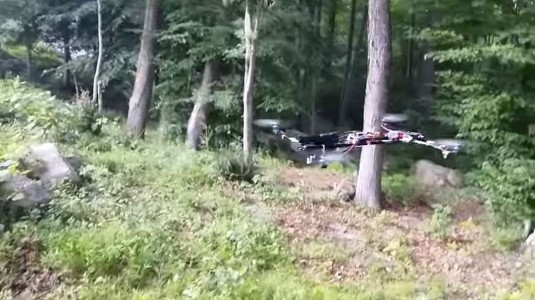 Outry As A Student Demonstrates Use Of A Functional Gun Mounted On A Drone-1