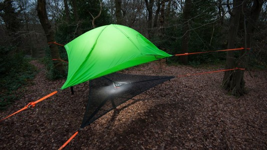 Tenstile: New Comfortable Camping Tents Are Suspended From Trees-1