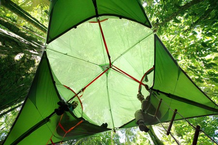 Tenstile: New Comfortable Camping Tents Are Suspended From Trees-2