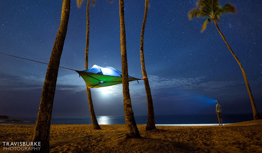 Tenstile: New Comfortable Camping Tents Are Suspended From Trees-7