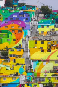 To Unite The Community Against Violence Artists Paint A Mural On 200 Houses -10