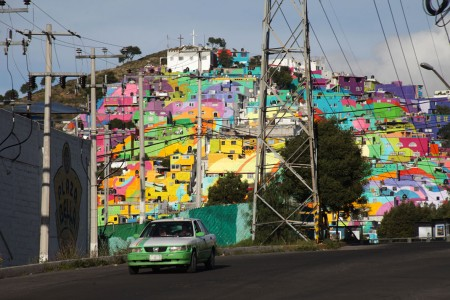 To Unite The Community Against Violence Artists Paint A Mural On 200 Houses -3