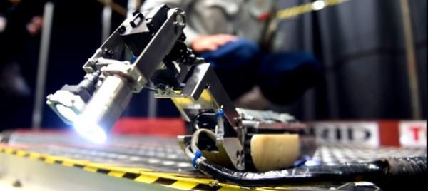 Toshiba's Revolutionary Scorpion Robot To Explore The Fukushima Reactor-