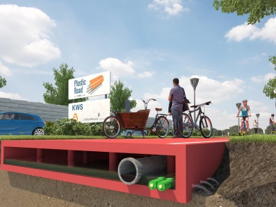 World's First Entirely Plastic Road To Be Constructed In Rotterdam Using Recycled Waste-