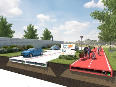 World's First Entirely Plastic Road To Be Constructed In Rotterdam Using Recycled Waste-1