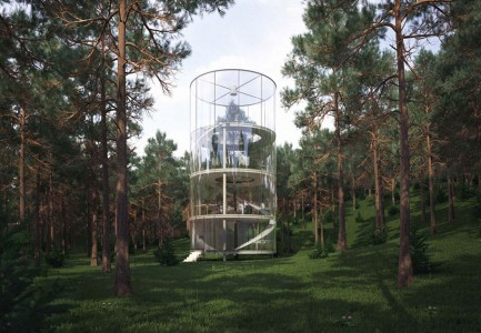 12 Green Tree Houses Built Around The Trees Without Cutting Them-12