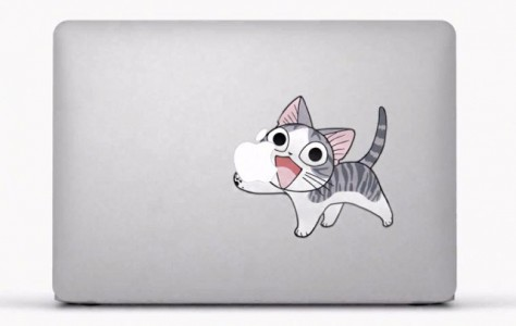28 Geek Stickers With Apple Logo To Transform Your Mackbook's Look-13