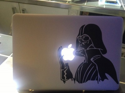 28 Geek Stickers With Apple Logo To Transform Your Mackbook's Look-17