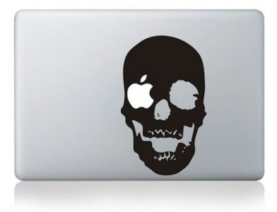 28 Geek Stickers With Apple Logo To Transform Your Mackbook's Look-7