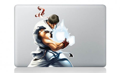 28 Geek Stickers With Apple Logo To Transform Your Mackbook's Look-8