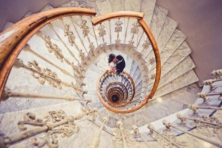 30 Absolutely Mesmerizing Spiral Staircase Designs From Around The World-12