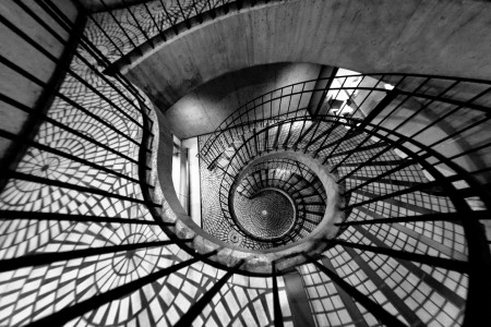 30 Absolutely Mesmerizing Spiral Staircase Designs From Around The World-21