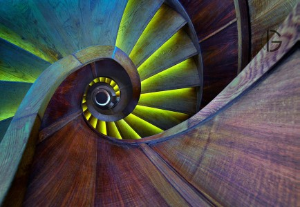 30 Absolutely Mesmerizing Spiral Staircase Designs From Around The World-25
