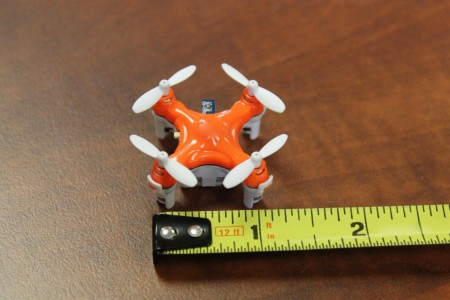 Aerius: Axis Designs World's Tiniest Quadcopter Size Of A Quarter-