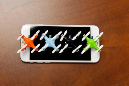 Aerius: Axis Designs World's Tiniest Quadcopter Size Of A Quarter-1