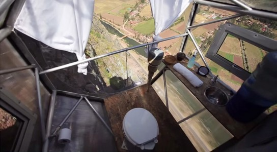 Dare To Spend A Night In These Dizzying Capsules More Than 100 Meters High-7