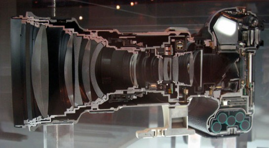 A camera-Discover Amazing Cross-section View Of 22 Everyday Objects Cut In Half-14