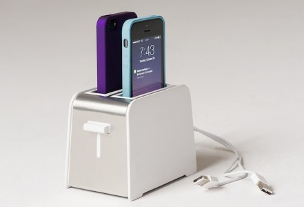 Foaster: This Toaster Is In fact A Disguised Multi-Device Charging Station-2