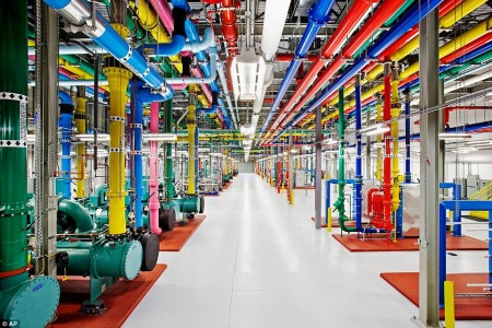 Google Data Warehouse in Douglas County, Georgia-Google Gives A Rare Glimpse Into Its Gigantic Network Infrasture Used To Provide Its Various Services-