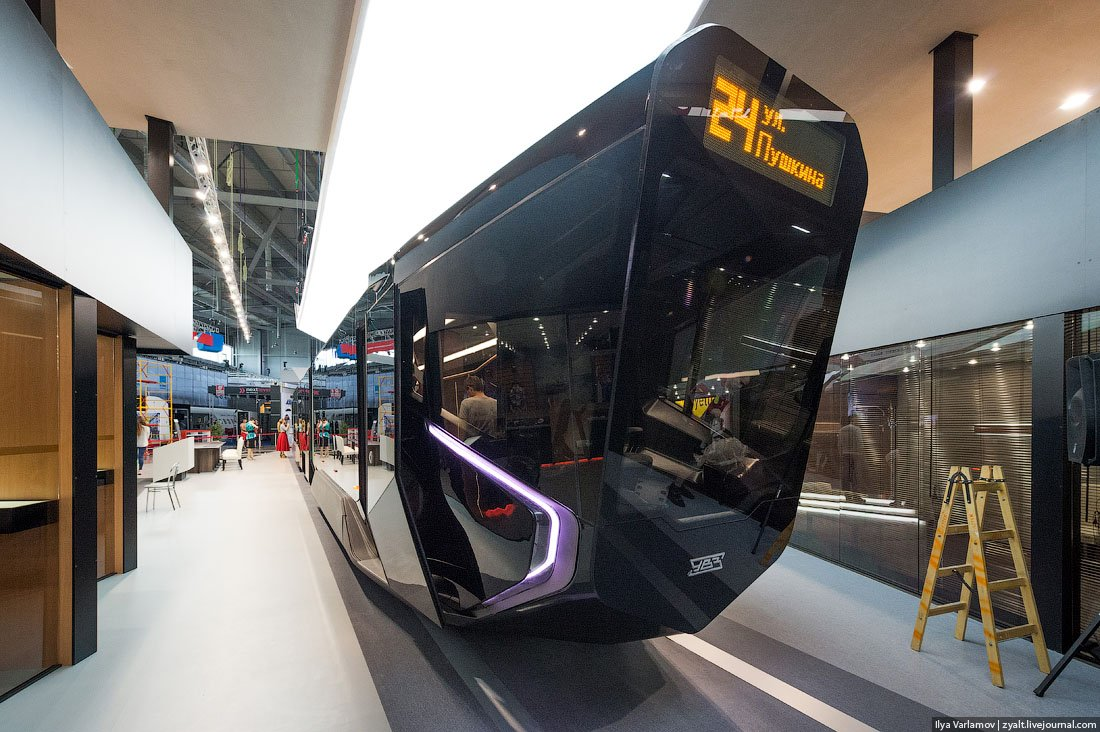 Russian One: The New High-Tech And Luxurious Russian Tram In Photos-7