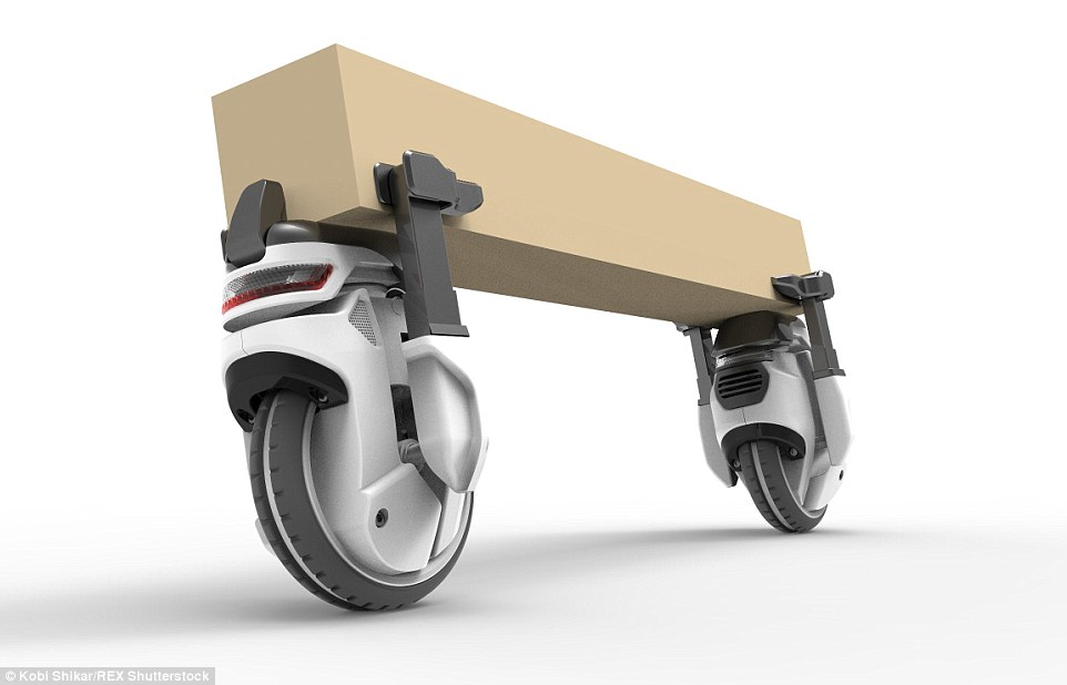 Swarms Of Revolutionary Transwheel Robots Can Collaborate To Carry Heavy Parcels-1