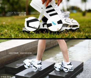 Walk Wing To Convert Any Shoes Into Skateboard-2