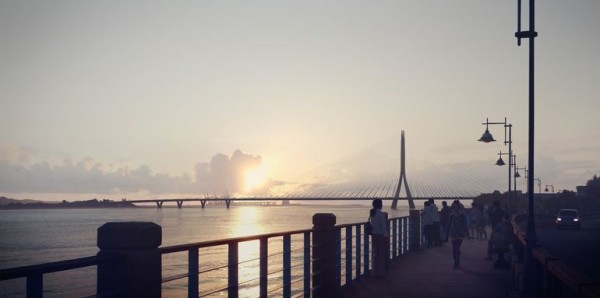 World's Largest Asymmetrical Single Tower Suspension Bridge To Be made In Taipei, Taiwan-