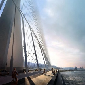 World's Largest Asymmetrical Single Tower Suspension Bridge To Be made In Taipei, Taiwan-8