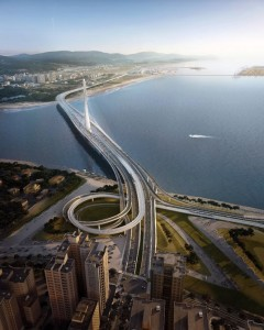 World's Largest Asymmetrical Single Tower Suspension Bridge To Be made In Taipei, Taiwan-9