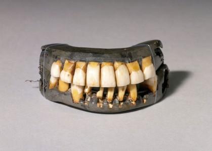 The teeth of George Washington