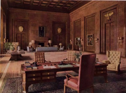 The office of Adolf Hitler